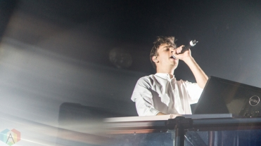 Flume performs at Reaction NYE at the Donald E. Stephenson Convention Center in Rosemont, IL on December 30, 2016. (Photo: Taylor Ohryn/Aesthetic Magazine)
