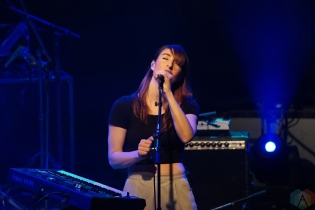 Hannah Georgas performs at the Guelph Concert Theatre in Guelph, ON on December 3, 2016. (Photo: Dan Fischer/Aesthetic Magazine)