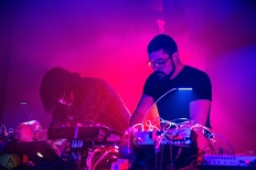 MSTRKRFT performs at the Hoxton in Toronto on December 3, 2016. (Photo: Brendan Albert/Aesthetic Magazine)