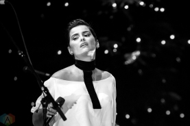 Nelly Furtado performs at the 2016 Andy Kim Christmas Concert at the Queen Elizabeth Theatre in Toronto on December 7, 2016. (Photo: Brendan Albert/Aesthetic Magazine)
