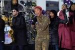Photos: Pharrell Williams @ RockefellerCenter