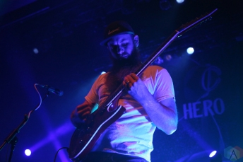Protest The Hero performs at the Danforth Music Hall in Toronto on December 18, 2016. (Photo: Jon Wishart/Aesthetic Magazine)