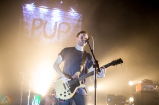 PUP performs at the Danforth Music Hall in Toronto on December 14, 2016. (Photo: Katrina Lat/Aesthetic Magazine)