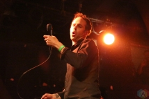 The Bouncing Souls perform at Lee's Palace in Toronto on December 13, 2016. (Photo: Jon Wishart/Aesthetic Magazine)