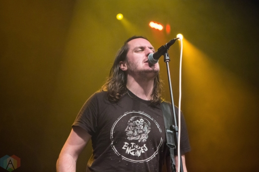 The Hotelier performs at the Danforth Music Hall in Toronto on December 14, 2016. (Photo: Katrina Lat/Aesthetic Magazine)