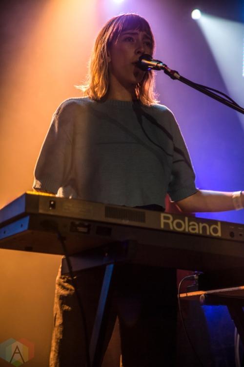 Uni Ika Ai performs at the Mod Club in Toronto on December 7, 2016. (Photo: Sarah McNeil/Aesthetic Magazine)