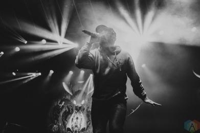 Aesop Rock performs at Rebel in Toronto on January 29, 2017. (Photo: Lauren Garbutt/Aesthetic Magazine)
