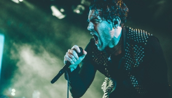 AFI performs at the Commodore Ballroom in Vancouver on January 24, 2017. (Photo: Timothy Nguyen/Aesthetic Magazine)
