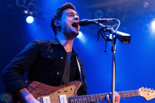 Arkells perform at the House of Blues in Chicago on January 23, 2017. (Photo: Katie Kuropas/Aesthetic Magazine)