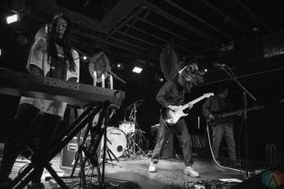 Cherry Glazerr performs at the Velvet Underground in Toronto on January 24, 2017. (Photo: Morgan Hotston/Aesthetic Magazine)