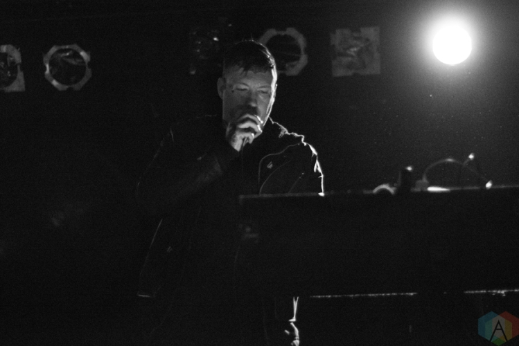 Cold Cave performs at Lee's Palace in Toronto on January 19, 2017. (Photo: Morgan Hotston/Aesthetic Magazine)