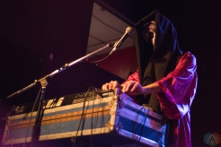 Drab Majesty performs at Lee's Palace in Toronto on January 19, 2017. (Photo: Morgan Hotston/Aesthetic Magazine)