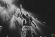 Homeboy Sandman performs at Rebel in Toronto on January 29, 2017. (Photo: Lauren Garbutt/Aesthetic Magazine)
