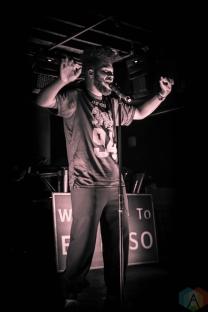 Khalid performs at Velvet Underground in Toronto on January 15, 2017. (Photo: Clayton Mackney/Aesthetic Magazine)