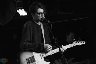 Slow Hollows performs at the Velvet Underground in Toronto on January 24, 2017. (Photo: Morgan Hotston/Aesthetic Magazine)