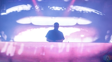 Tchami performs at Reaction NYE at the Donald E. Stephenson Convention Center in Rosemont, IL on December 31, 2016. (Photo: Taylor Ohryn/Aesthetic Magazine)