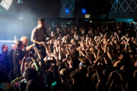 The Dillinger Escape Plan performs at Rock City in Nottingham, UK on January 21, 2017. (Photo: Gunnar Mallon/Aesthetic Magazine)