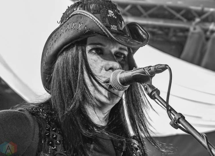 Wednesday 13 performs at The Rockpile West in Toronto on January 28, 2017. (Photo: Andrew Hartl/Aesthetic Magazine)