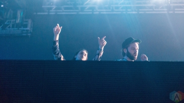 Zeds Dead performs at Reaction NYE at the Donald E. Stephenson Convention Center in Rosemont, IL on December 31, 2016. (Photo: Taylor Ohryn/Aesthetic Magazine)