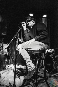 Allan Rayman performs at Berlin NYC in New York City on February 22, 2017. (Photo: Alx Bear/Aesthetic Magazine)