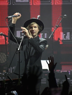 Beck performs onstage as part of Citi Sound Vault at the Hollywood Palladium in Los Angeles, California on February 10, 2017. (Photo: Charley Gallay/Getty)