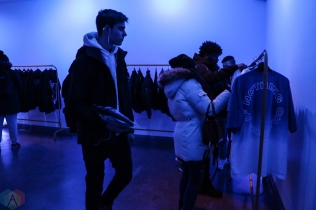 "Fans shop at Big Sean's ""I Decided"" pop-up shop at 12 Ossington Ave in Toronto on February 3, 2017. (Photo: Shahnoor Ijaz/Aesthetic Magazine)"