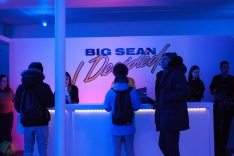 """Fans shop at Big Sean's """"I Decided"""" pop-up shop at 12 Ossington Ave in Toronto on February 3, 2017"""