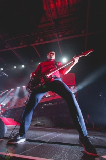 Billy Talent performs at the Abbotsford Centre in Abbotsford, BC on February 16, 2017. (Photo: Isaac Wray/Aesthetic Magazine)
