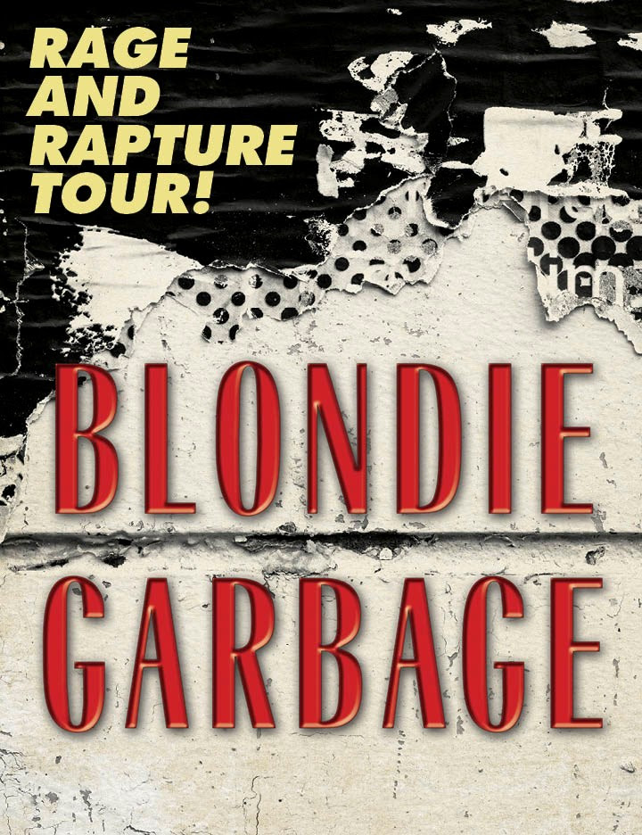 Blondie Garbage The Rage And Rapture Tour August
