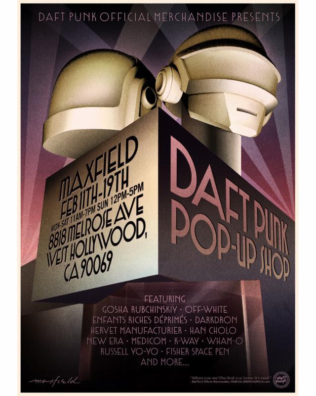 Daft Punk - Pop-Up Shop Los Angeles 2017