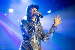 Dua Lipa performs at the Mod Club in Toronto on February 27, 2017. (Photo: Katrina Lat/Aesthetic Magazine)