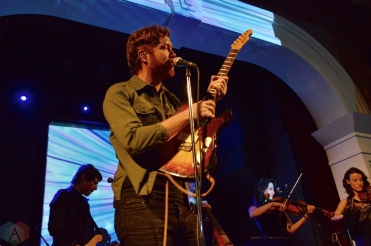 Fast Romantics perform at the Great Hall in Toronto on February 2, 2017. (Photo: Justin Roth/Aesthetic Magazine)