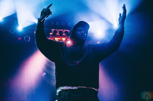 Ghostface Killah performs at the Rickshaw Theatre in Vancouver on February 27, 2017. (Photo: Timothy Nguyen/Aesthetic Magazine)