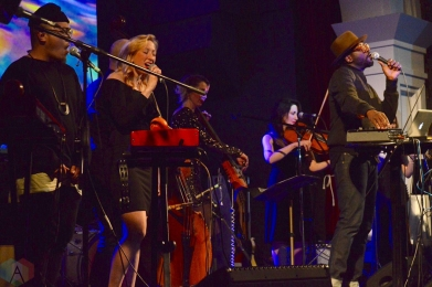 Grand Analog performs at the Great Hall in Toronto on February 2, 2017. (Photo: Justin Roth/Aesthetic Magazine)