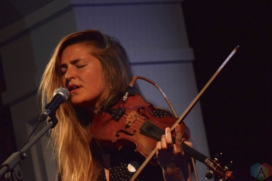 Hannah Epperson performs at the Great Hall in Toronto on February 2, 2017. (Photo: Justin Roth/Aesthetic Magazine)