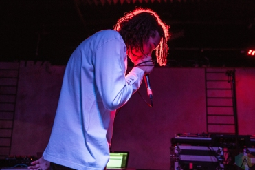Hard_R performs at Adelaide Hall in Toronto on January 31, 2017. (Photo: Lauren Garbutt/Aesthetic Magazine)