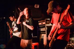 Incase We Crash performs at Hard Luck Bar in Toronto on February 26, 2017. (Photo: Chloe Thomson/Aesthetic Magazine)