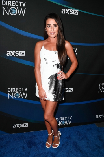 Lea Michele attends the 2017 DIRECTV NOW Super Saturday Night Concert at Club Nomadic on February 4, 2017 in Houston, Texas. (Photo: Frazer Harrison/Getty)