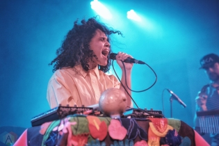 Lido Pimienta performs at Hillside Inside in Guelph on February 11, 2017. (Photo: Dan Fischer/Aesthetic Magazine)