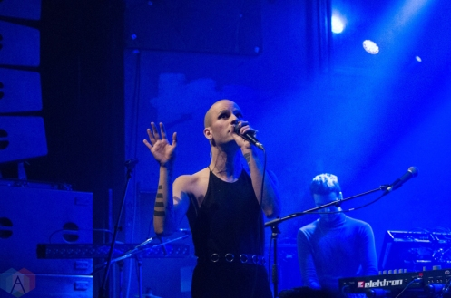 Michele Nox performs at the Mod Club in Toronto on February 12, 2017. (Photo: Janine Wong/Aesthetic Magazine)