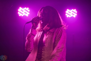 Mykki Blanco performs at the Velvet Underground in Toronto on February 14, 2017. (Photo: Morgan Hotston/Aesthetic Magazine)