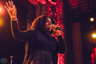 Noname performs at Metro Chicago in Chicago on February 8, 2017. (Photo: Callie Craig/Aesthetic Magazine)