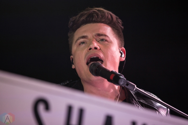 Shawn Hook performs at the Save On Foods Memorial Centre in Victoria, B.C on February 12, 2017. (Photo: Tyson Elder/Aesthetic Magazine)