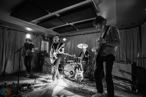 Sloucher performs at Barboza in Seattle on February 12, 2017. (Photo: Daniel Hager/Aesthetic Magazine)