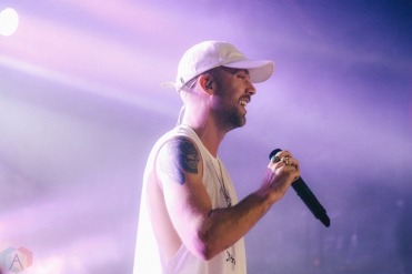 SonReal performs at the Mod Club in Toronto on February 18, 2017. (Photo: Stephan Ordonez/Aesthetic Magazine)