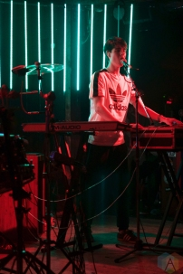 Tennyson performs at the Fortune Sound Club in Vancouver on February 18, 2017. (Photo: Philip Moussavi/Aesthetic Magazine)