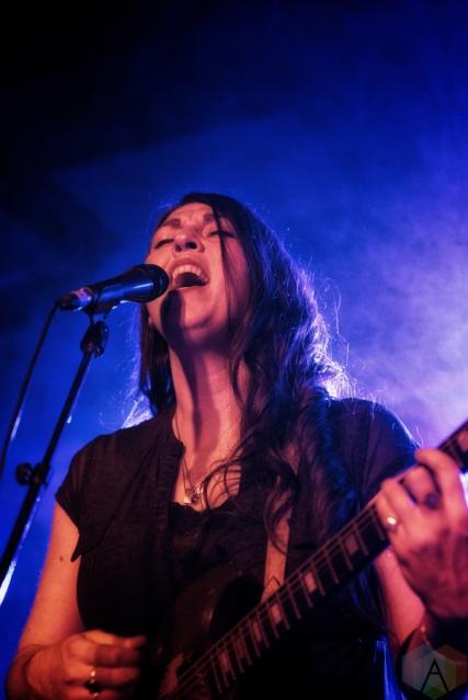 Terra Lightfoot performs at Peter Clark Hall in Guelph on February 9, 2017 during Hillside Inside Festival
