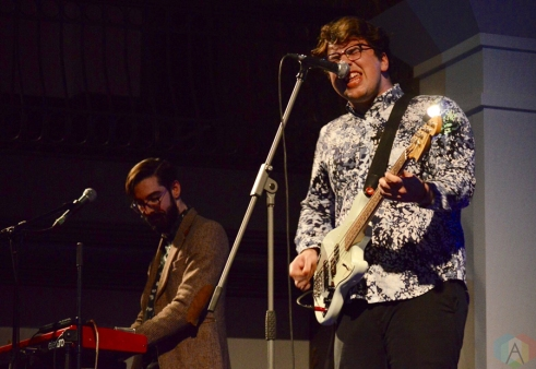 The Elwins perform at the Great Hall in Toronto on February 2, 2017. (Photo: Justin Roth/Aesthetic Magazine)