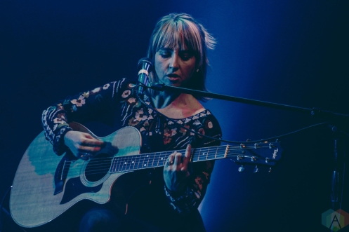The Joy Formidable performs at Lincoln Hall in Chicago on February 27, 2017. (Photo: Kris Cortes/Aesthetic Magazine)