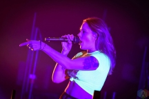 Tove Lo performs at Massey Hall in Toronto on February 17, 2017. (Photo: Angelo Marchini/Aesthetic Magazine)
